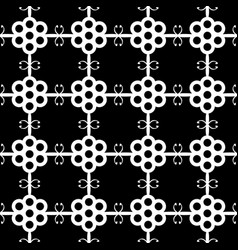 the abstract geometric seamless pattern vector image