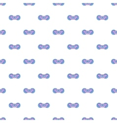 Train wheels pattern cartoon style vector
