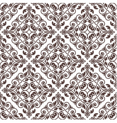 Vintage seamless pattern seamless template vector