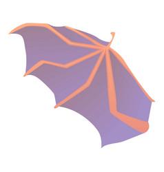 Waving wing icon cartoon style vector