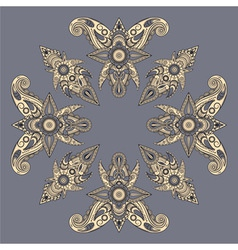 eastern style paisley pattern vector image vector image