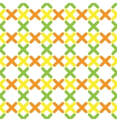 Color pattern 02 vector image vector image