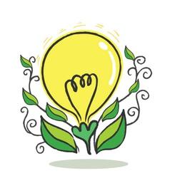 Flower Bulb vector image