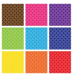 Seamless backgrounds vector image