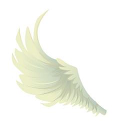 big wing icon cartoon style vector image