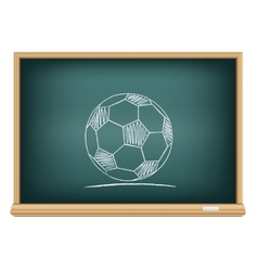 board sport ball vector image