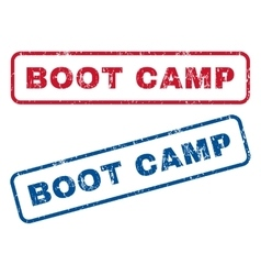 Boot Camp Rubber Stamps vector