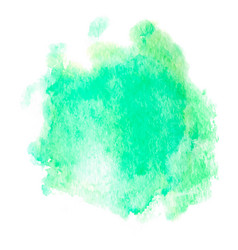 Colorful abstract background soft green vector