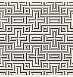 seamless pattern repeating geometric cross vector image