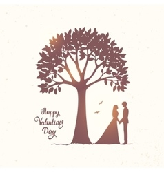 Tree and couple vector