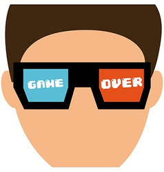 Video gamers vector