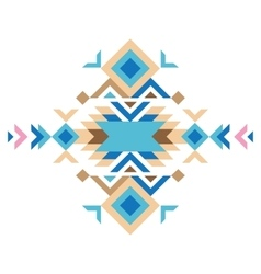colorful tribal design element vector image vector image