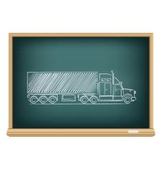 board truck vector image vector image