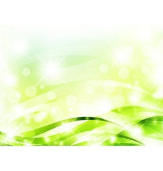 bright light green background vector image