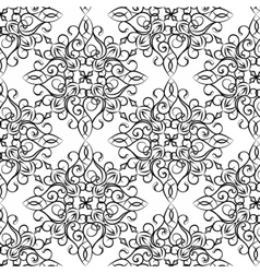Classic style circular pattern vector
