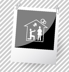 Photoframe vector image vector image