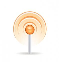 signal icon vector image vector image