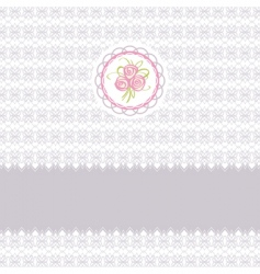 roses elements vector image vector image