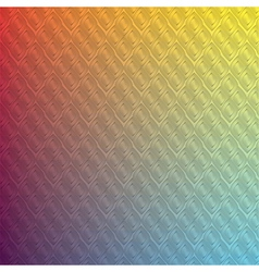 Abstract Background rainbow Thai pattern vector image