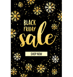 banner for the black friday sale modern vector image