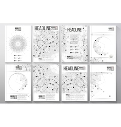 Business and scientific templates with vector