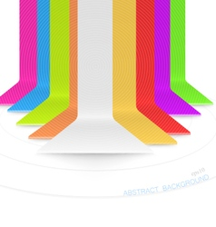 Colored bar vector