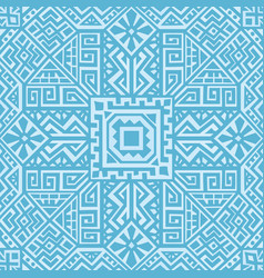 Creative ethnic style seamless pattern vector