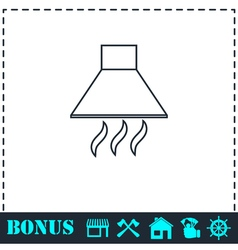 Extract icon flat vector image