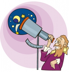 Galileo stronomer vector