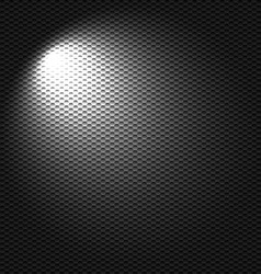 Light flashlight vector image
