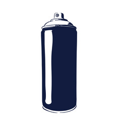 paint spray can vector image vector image