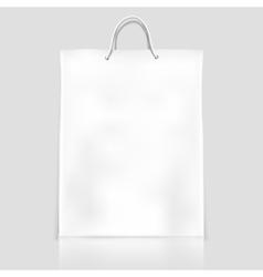Bag template mockup vector image