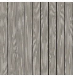 Gray wood texture background vector image
