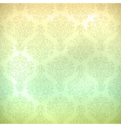Grunge retro seamless pattern wallpaper vector image vector image