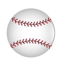 Baseball ball icon graphic vector