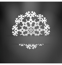 Christmas Greeting Card EPS10 vector image