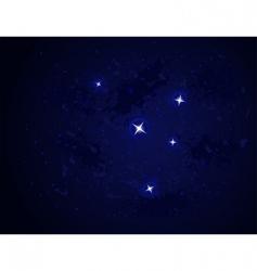 Galaxy stars vector