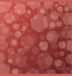 geometric abstract techno background with hexagons vector image