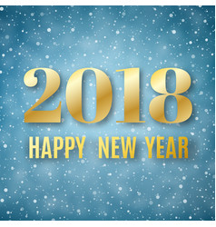 happy new year text vector image