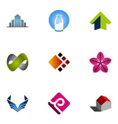 Logo design elements set 10 vector