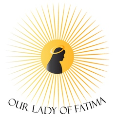 our lady fatima vector image