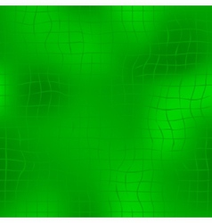 Green seamless background with grid vector image vector image