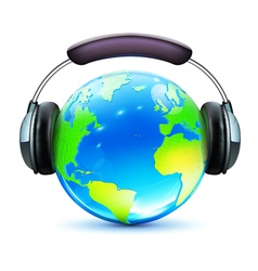 global music concept vector image vector image