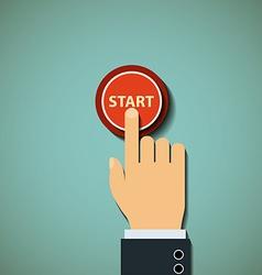 button Stock vector image