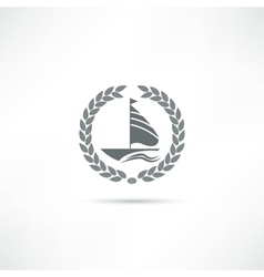 sailfish icon vector image