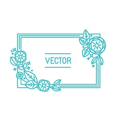 abstract frame and background vector image