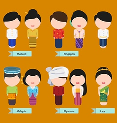 Asean clothing1 vector