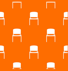 black office chair pattern seamless vector image