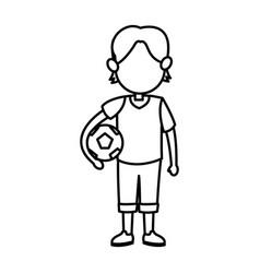 cartoon boy kid son family image vector image