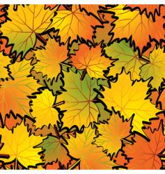 maple leaf abstract background vector image vector image